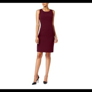NWOT J.Crew Sleeveless Burgundy Dress Size 0